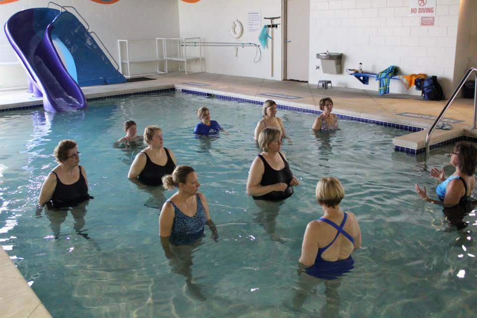 Adult In Water Demo & Participation